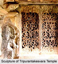 Sculpture of Tripurantakesvara Temple