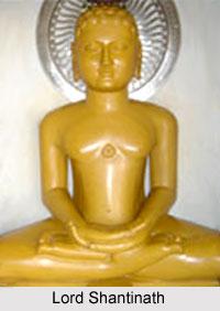 Lord Shantinath, Sixteenth Jain Tirthankara