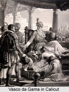 Vasco da Gama in Calicut
