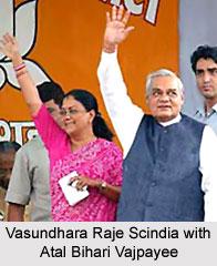 Vasundhara Raje Scindia, Former Chief Minister of Rajasthan