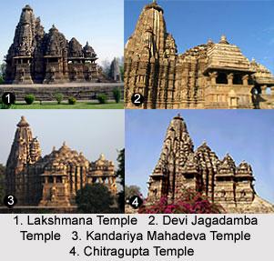 Western Group of Temples at Khajuraho, Madhya Pradesh