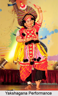 Performance of Yakshagana