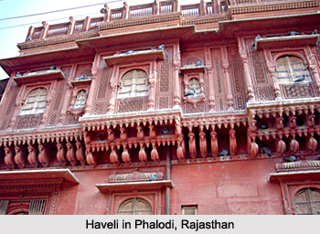 Haveli in Phalodi, Rajasthan