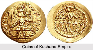 Coins of Kushana Empire