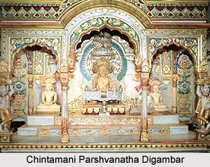 Chintamani Parshvanatha Digambar, Kachner, Maharashtra
