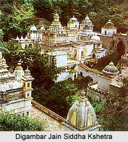 Digambar Jain Siddha Kshetra, Pawagiri Una, Madhya Pradesh