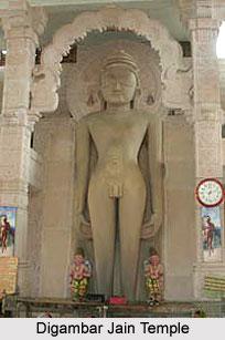 Digambar Jain Temple, Thuvonji, Madhya Pradesh
