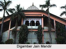 Digambar Jain Mandir, Mathura Chaurasi, Mathura, Uttar Pradesh