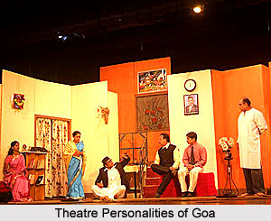 Theatre Personalities of  Goa