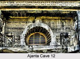 Ajanta Cave 12