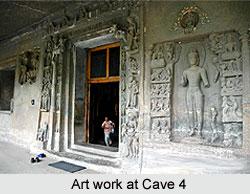 Ajanta Cave 4