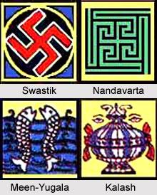 Ashta Mangla in Jainism