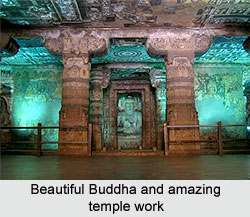 Beautiful Buddha and amazing temple work