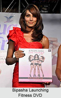 Bipasha Basu launching Fitness DVD