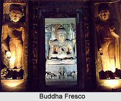 Buddha Fresco