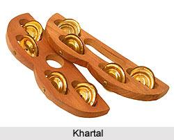 Khartal, Percussion Instrument