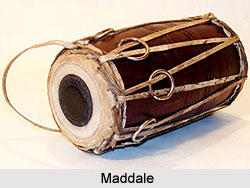 Maddale, Percussion Instrument
