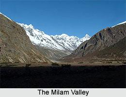 Milam Glacier Nanda Devi
