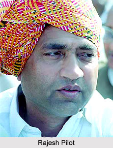 Rajesh Pilot, Indian Politician