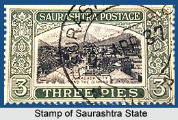 Saurashtra State, Union of India