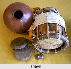 Thavil, Percussion Instrument