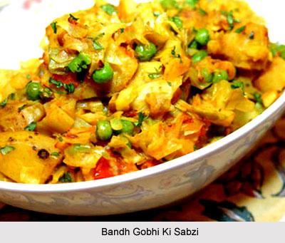 Bandh Gobhi Ki Sabzi