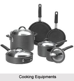 Cooking Equipments, Indian Cookery