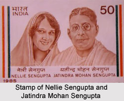 Jatindra Mohan Sengupta, Indian Revolutionary