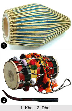Musical Instruments in East Indian Folk Music