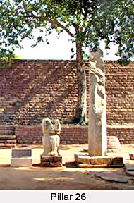 Pillar 26 at Sanchi