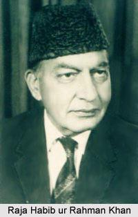 Raja Habib Ur Rahman Khan, Indian National Army