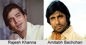 Rajesh Khanna and Amitabh Bachchan