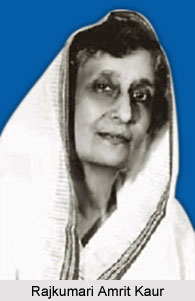 Rajkumari Amrit Kaur, Indian Politicians