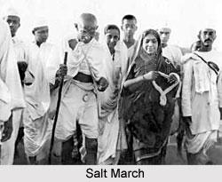 Salt as Medium of Protest