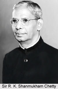 Sir R. K. Shanmukham Chetty , Indian Freedom Fighter