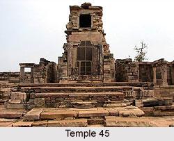 Temple 45 at Sanchi