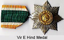 Vir E Hind Medal