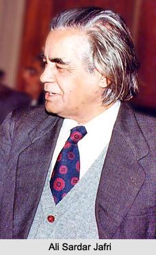 Ali Sardar Jafri, Urdu Poet