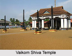 Architecture of Vaikom Shiva Temple