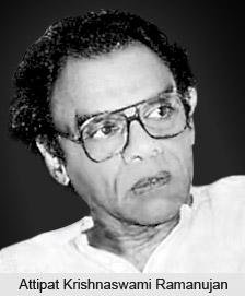 Attipat Krishnaswami Ramanujan, Modern Indian English Poet