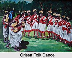 Dance Songs of Orissa, Folk Arts of Orissa