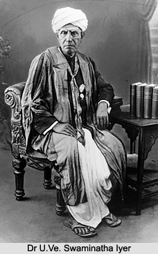 Dr U.Ve. Swaminatha Iyer, South Indian Poet