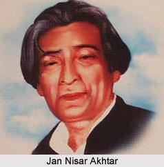 Jan Nisar Akhtar, Urdu Poet