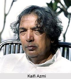 Kaifi Azmi, Urdu Poet