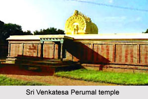 Legend of Sri Venkatesa Perumal temple, Tirumukkudal, South India