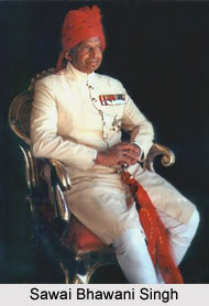 Maharaja Sawai Bhawani Singh, Ruler of Jaipur