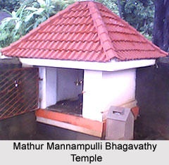 Mathur Mannampulli Bhagavathy Temple, Kerala