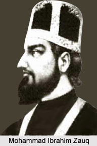 Mohammad Ibrahim Zauq, Urdu Poet