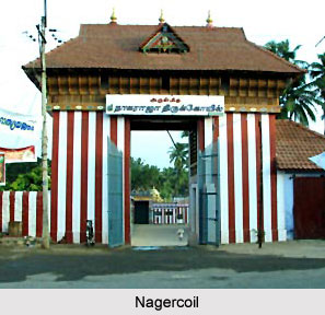 Nagarcoil temple Kanniyakumari, Tamil Nadu