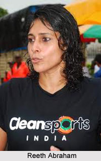 Reeth Abraham, Indian Long Jumper